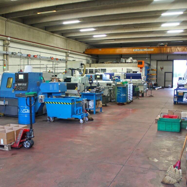 GM Minuterie Bassano VI Lavorazione acciaio alluminio ottone